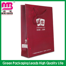Over 20 years export experienced good workmanship paper shopping bag