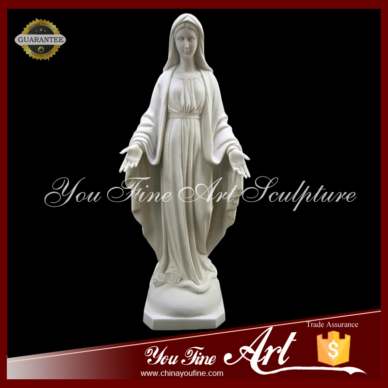 Carving Stone Holly Virgin Mother Maria Statue