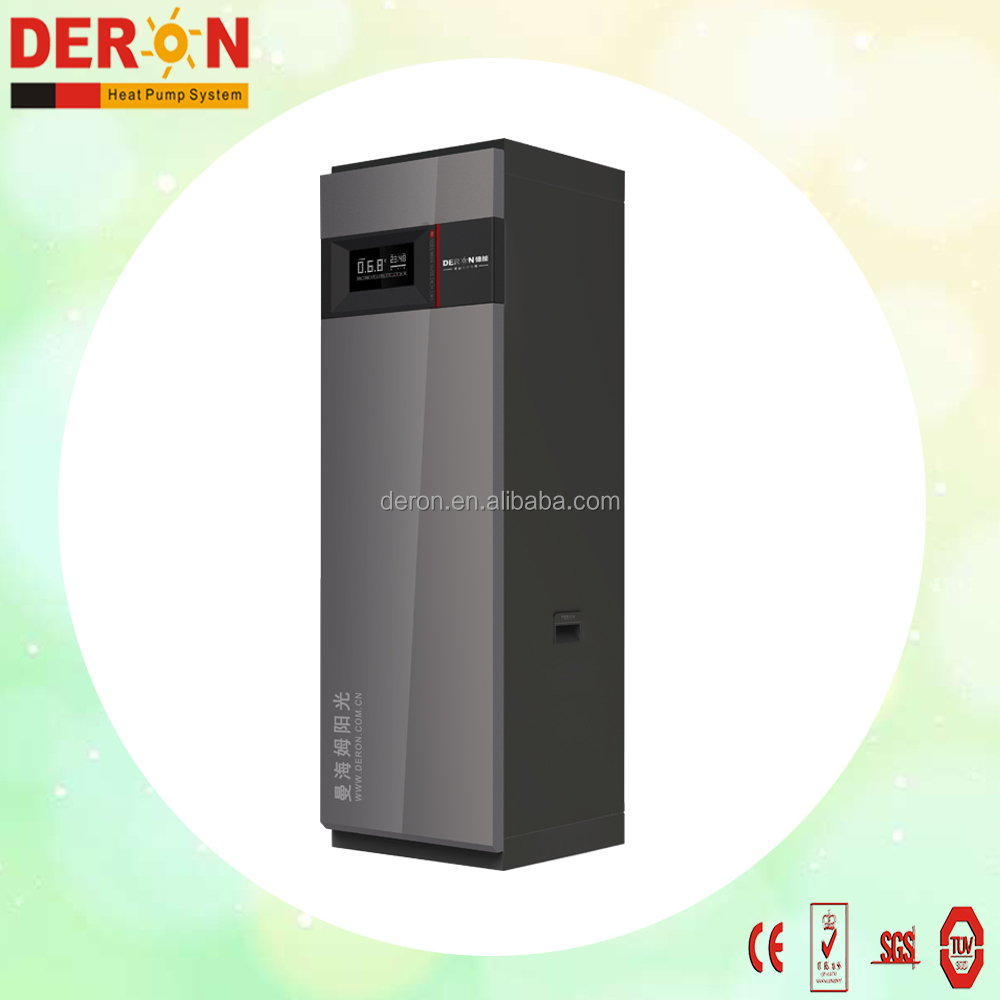 Household Electric high cop water heater air source heat pump all in one with SAI GLOBAL approval 3.6kw (DERON)