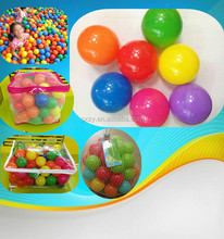 Phthalate Free and BPA Free Ball Pit balls Plastic Play Balls