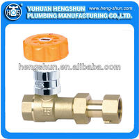 magnetic lock ball valve for water meter