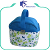 Promotional handled printed simple lunch bag for kids