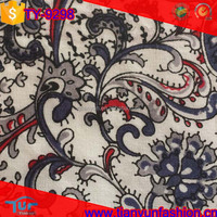 shaoxing keqiao textiles wholesale african 100% paisley printed cotton fabric