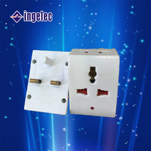 13A UK plug adapter, 3 square pins plug adapter with light adapter