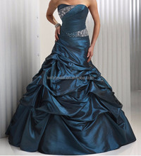 2015 hot sale puffy turquoise masquerade ball prom dresses