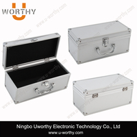 Heavy Duty Professional Aluminum CD Case with Guide Slot for Disc