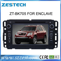 ZESTECH 2 Din Touch screen head unit gps autoradio navigation audio navigation Multimedia player for Buick Enclave / LUCERNE