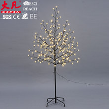 fluorescent sparkling show twig lighted led tree
