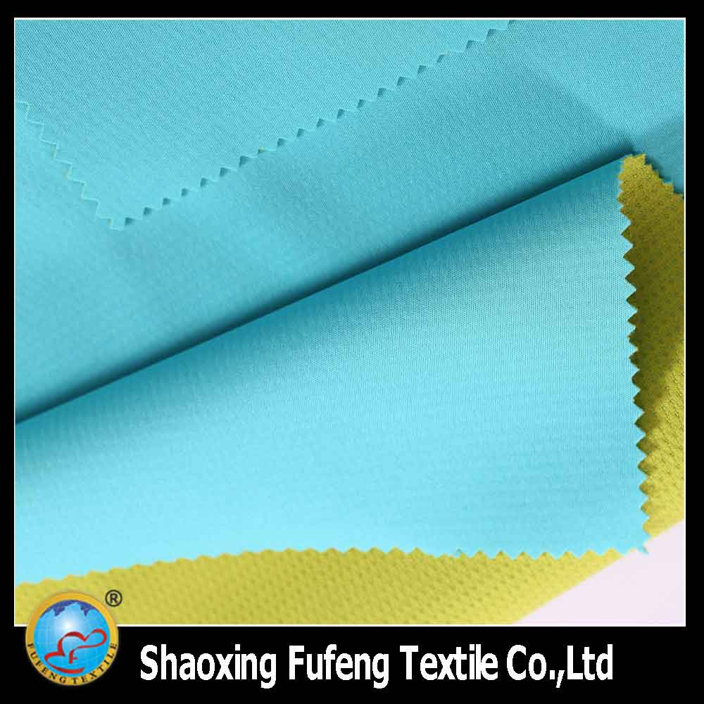 Hot sale 100% polyester 30D knit fabric laminate with TPU membrane and mesh fabric