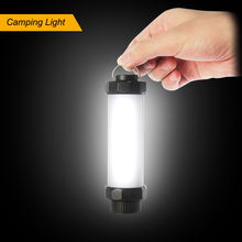 Promotion outdoor hand mini light tube 5 modes magnetic emergency SOS torch light abs rechargeable waterproof light fittings