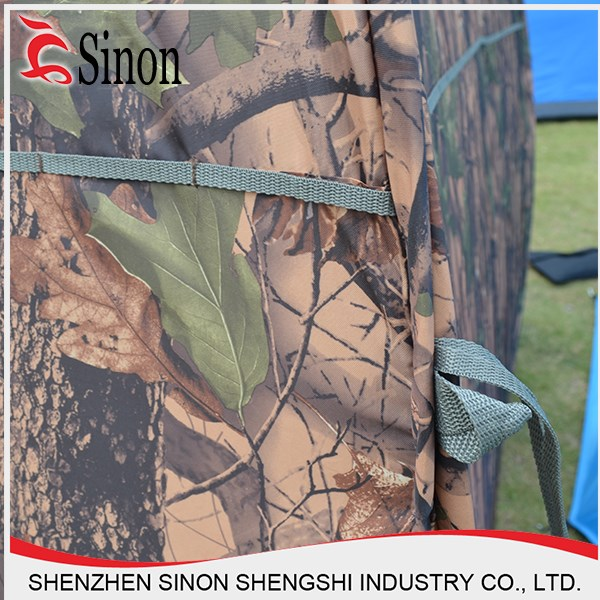 Made in China new products aluminum camping tent camouflage hunting tent
