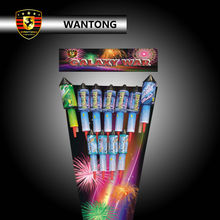 Hotsale consumer battery big bottle rocket fireworks