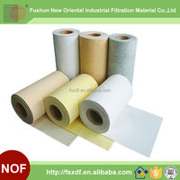 Industrial Dust filter cloth PTFE P84 Polyester Nomex PPS Fiberglass Nonwoven needle filter fabric