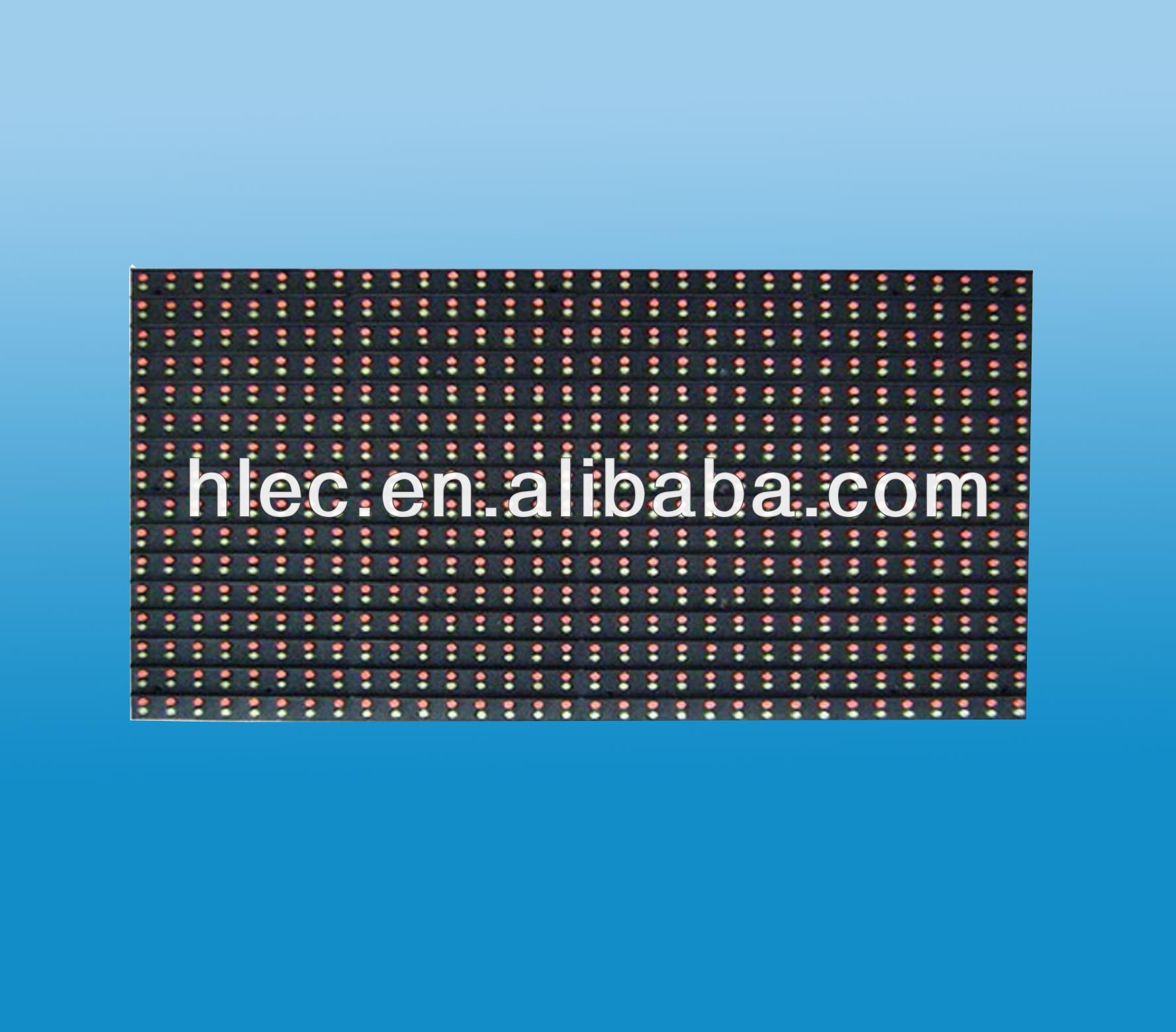 <strong>P10</strong> 16x32-<strong>1R1G</strong> Semi-outdoor LED Module