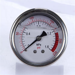 Durable Light Weight High Quality Clear Standard General 63Mm Dial Bottom Plastic Case Manometer