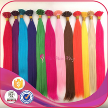 China alibaba wholesale Fake Pure Colored Synthetic Fiber Feather Hair Extensions with Single Pink Color Feather Hair