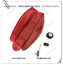 Red 50cc Mini Engine Gas Petrol Motorcycle Fuel Tank