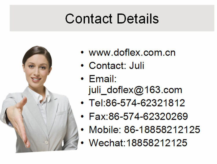 Doflex 2015 New Design Fashion Style ACS SGS CE Certificated High Pressure handheld shower hose