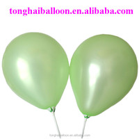 10inch high quality natural latex round balloon party set