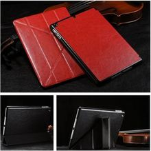Classical for apple ipad 5 case, leather case cover for ipad air, leather flip case for ipad air