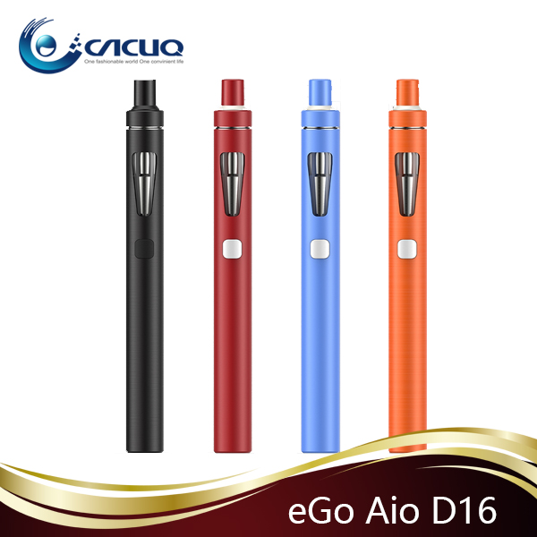 Cacuq stock offering 2ML 1500mAh Joyetech Ego AIO D16 Starter Kit