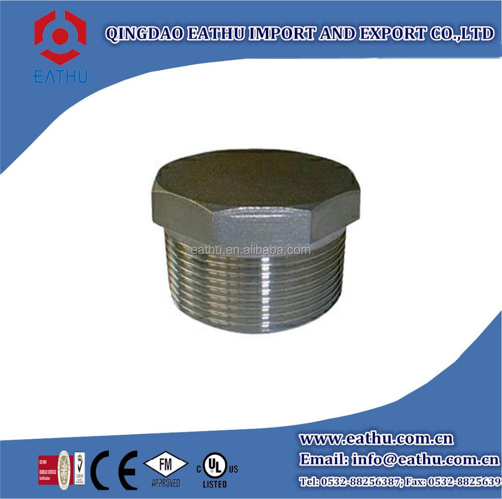 Malleable Iron Pipe Fitting Hexagon Plug