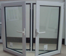 cheap aluminum frame insulated fixed glass window