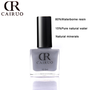 Factory outlet certified water baise clear nail polish