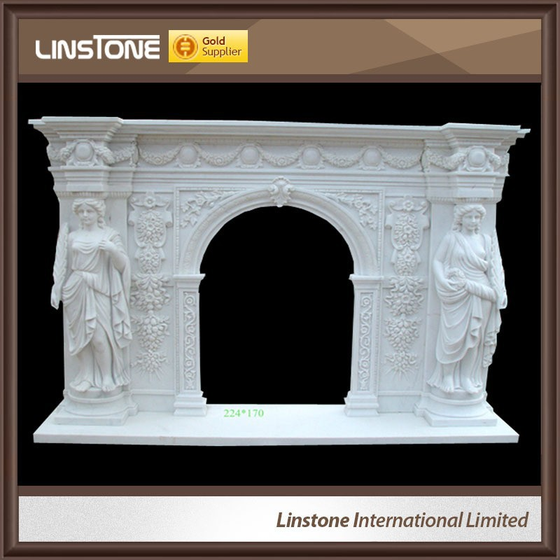 Large western natural cultured decorative fireplace mantles
