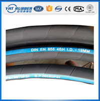 DIN EN 856 4SH Mining Abrasion Resistant hydraulic Hose Pipe
