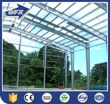 easy assembled prefab steel structure building for warehouse construction