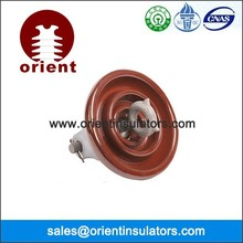 ANSI 52-1 52-9 porcelain suspension earth wire insulator