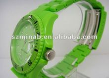 2012 fashion silicone watch
