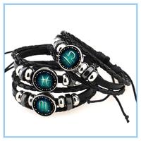 Buy adjustable diy leather bracelet NB0048 in China on Alibaba.com
