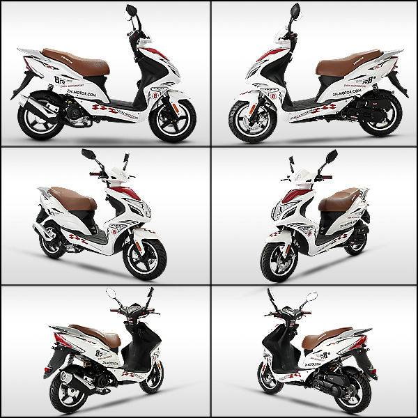 ZNEN MOTOR Best selling sporty model R8,Young Person Like it, Popular Scooter R8,scooters for sale
