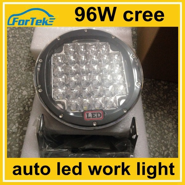 10-30v round 96w led work light cree for car safe driving at night