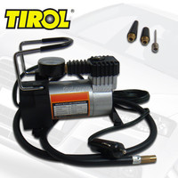 TIROL DC12V Auto Electric Portable Pump Heavy Duty Air Compressor Tire Inflator Tool 140 PSI
