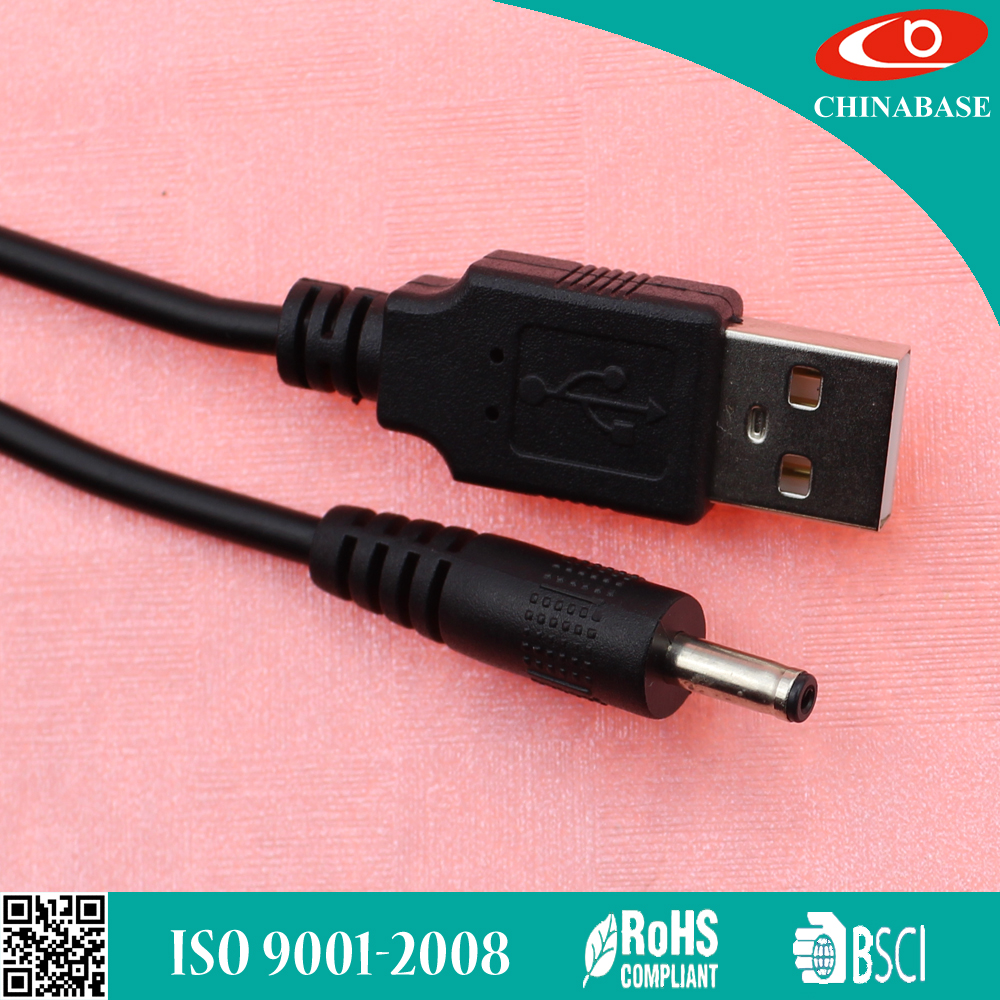 Custom Waterproof 5521 5.5*2.1mm / 5.5*2.5mm Male 12V 24V Extension DC Power Cord Cable For CCTV dc cable
