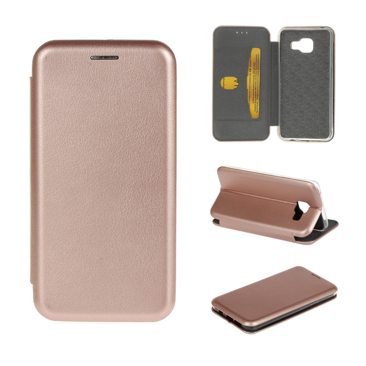 Cheapest Products Online ! Luxury Card Slot PU Leather Wallet Flip Case Cover with Stand For Samsung Galaxy A710 A7
