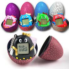 Tamagotchi Handheld Virtual Pet Game With Keychain / Electronic Pet Toy Growing Pet Egg Toy