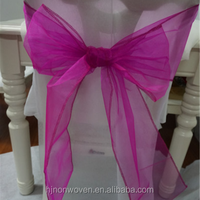 cheap organza sashes for christmas chair sash