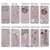 2016 OEM design Diamonded back cover mobile phone PC case for iphone 6/6s for girls