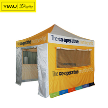Wind resistant pop up tent, metal frame gazebo with heavy duty