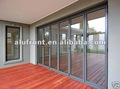 Good quality Vertical Aluminium Bi-folding Door