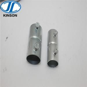 Steel EMT Set screw coupling for conduit