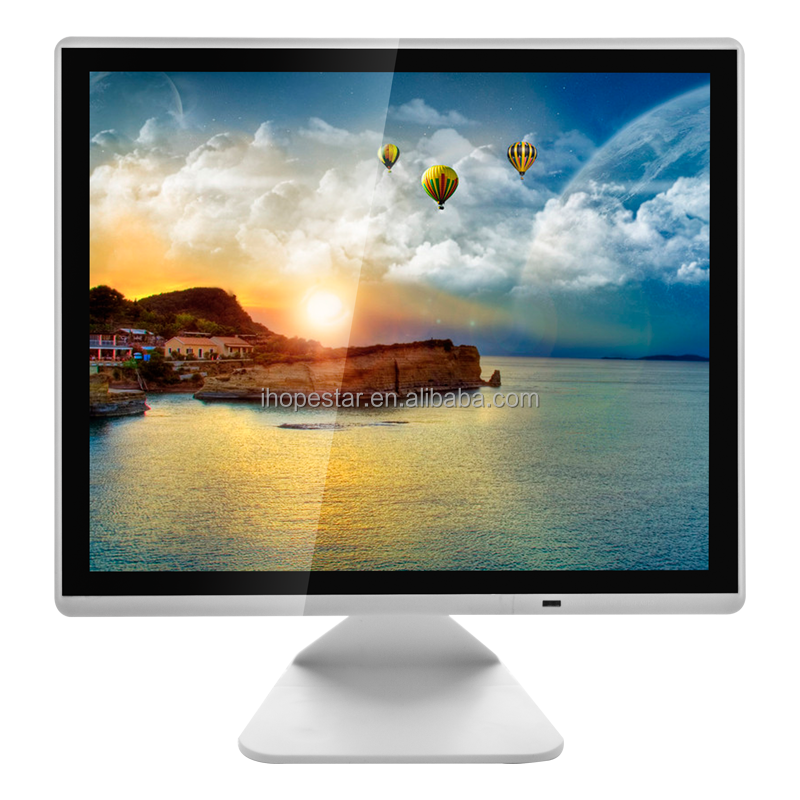 1280 * 1024 Square led display 17 inch lcd monitor for computer