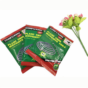 New unbreakable chemical formula smokeless plant fiber fibre mosquito coil