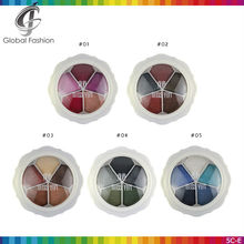 Name brand cosmetics Miss YIFI 5colors shimmer eyeshadow