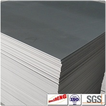 PVC recycled plastic sheet material