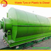 Pollution-Free Waste Plastic Pyrolysis Machine With CE